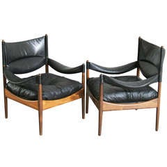 Pair of Modus Chairs by Kristian Solmer Vedel