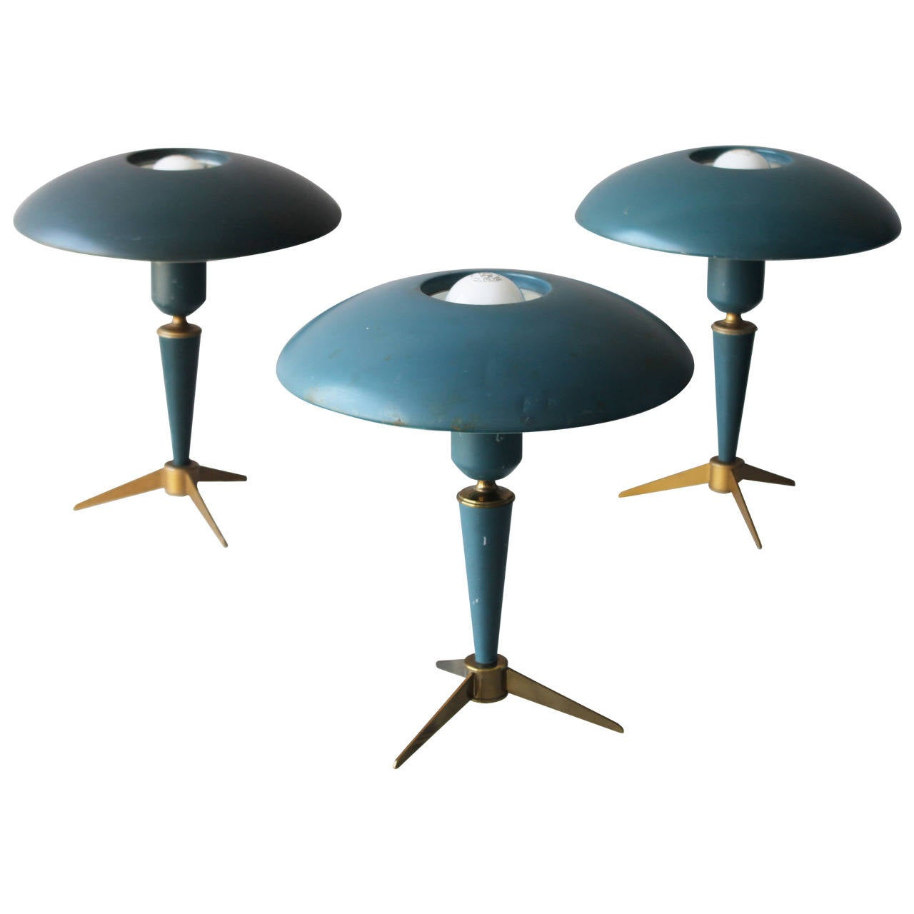 Three tripod table lamps by louis kalff for philips for sale at three tripod table lamps by louis kalff for philips 1 mozeypictures Gallery