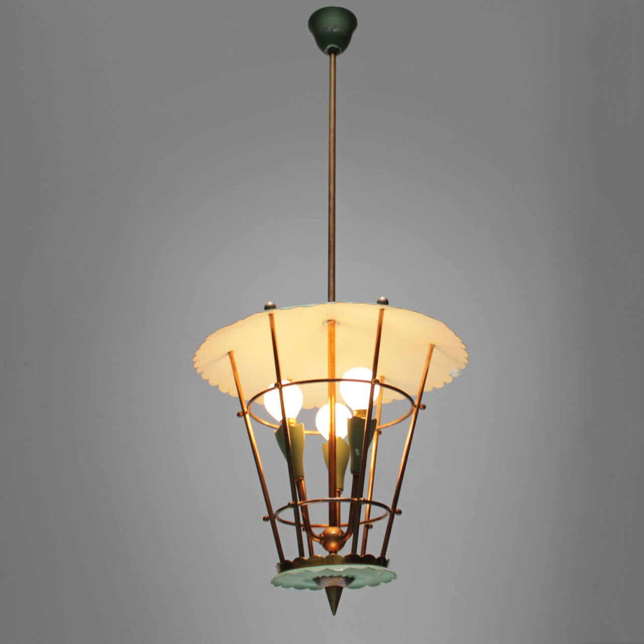 Copper Italian Lantern For Sale