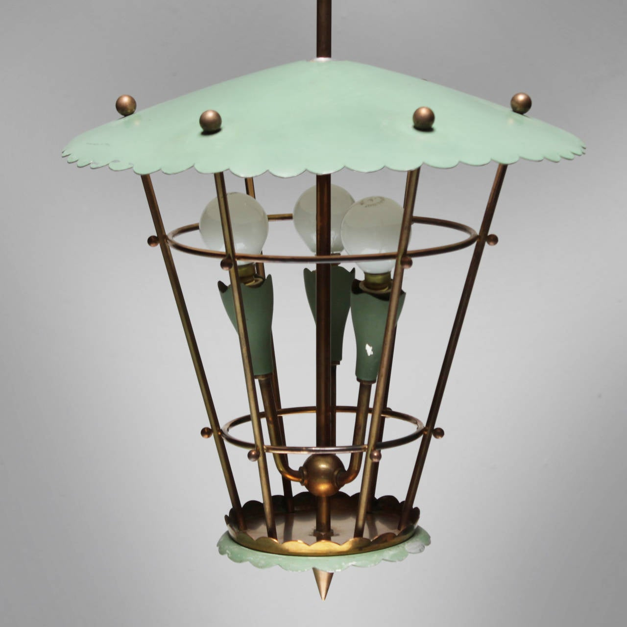 Lacquered Italian Lantern For Sale