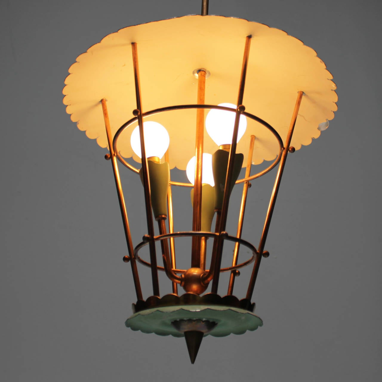 Mid-20th Century Italian Lantern For Sale