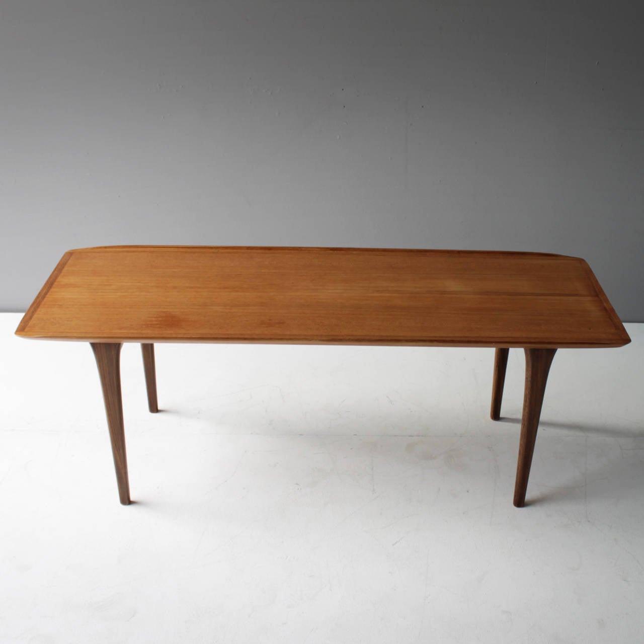 Danish Teak Coffee Table In The Manner Of Finn Juhl For Sale At 1stdibs