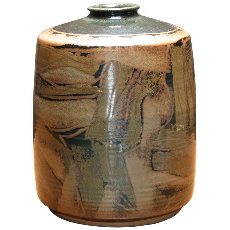 large vase by ivan weiss for royal copenhagen at 1stdibs. Black Bedroom Furniture Sets. Home Design Ideas