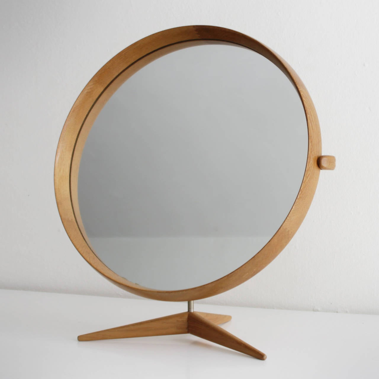framed table mirror by uno and osten kristiansson for sale