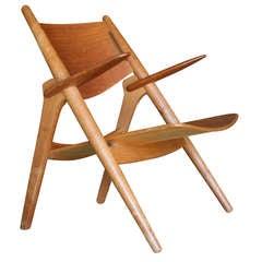 Hans J. Wegner CH28 Sawbuck Chair