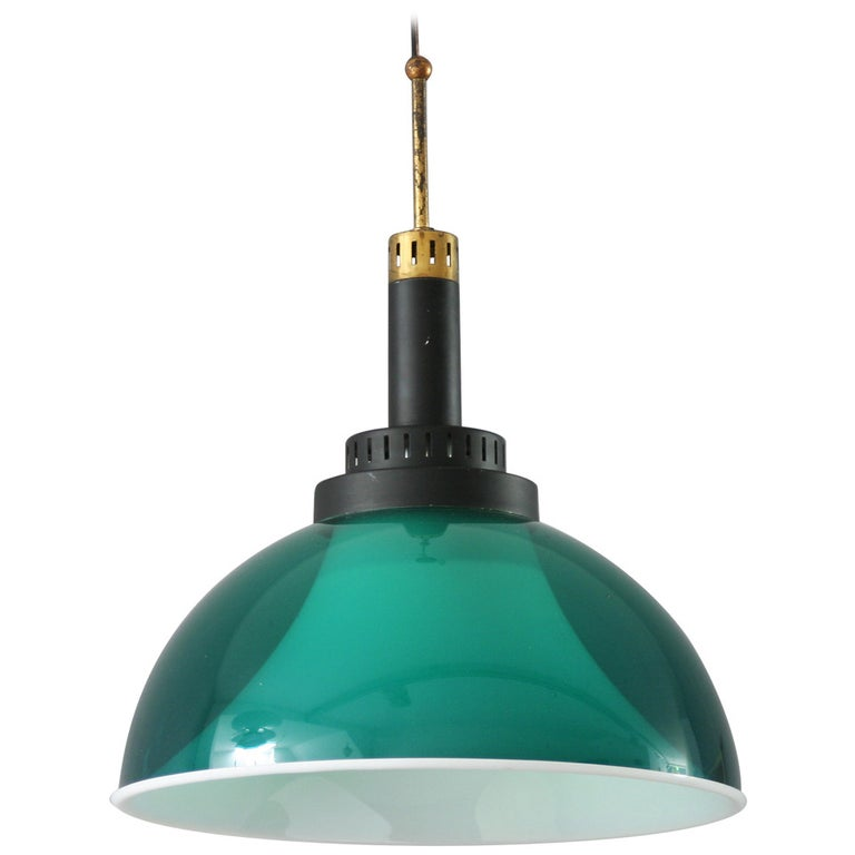 Italian Perspex Lamp by Stilux For Sale