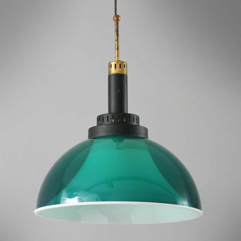 Italian Perspex Lamp by Stilux In Good Condition For Sale In JM Haarlem, NL