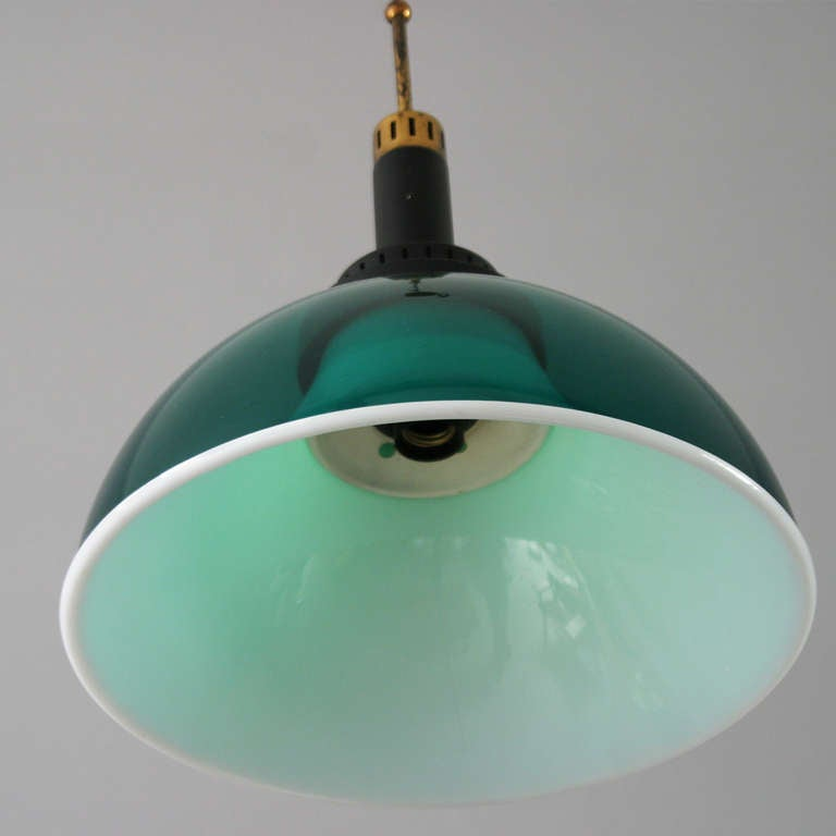 Italian Perspex Lamp by Stilux For Sale 1