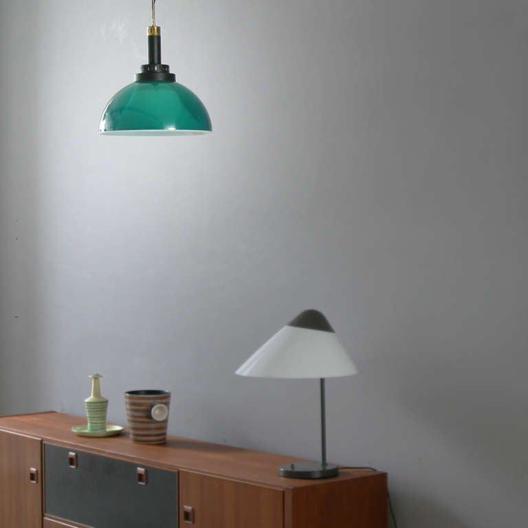 Italian Perspex Lamp by Stilux For Sale 2