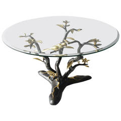 Brass Tree Coffee Table by Willy Daro