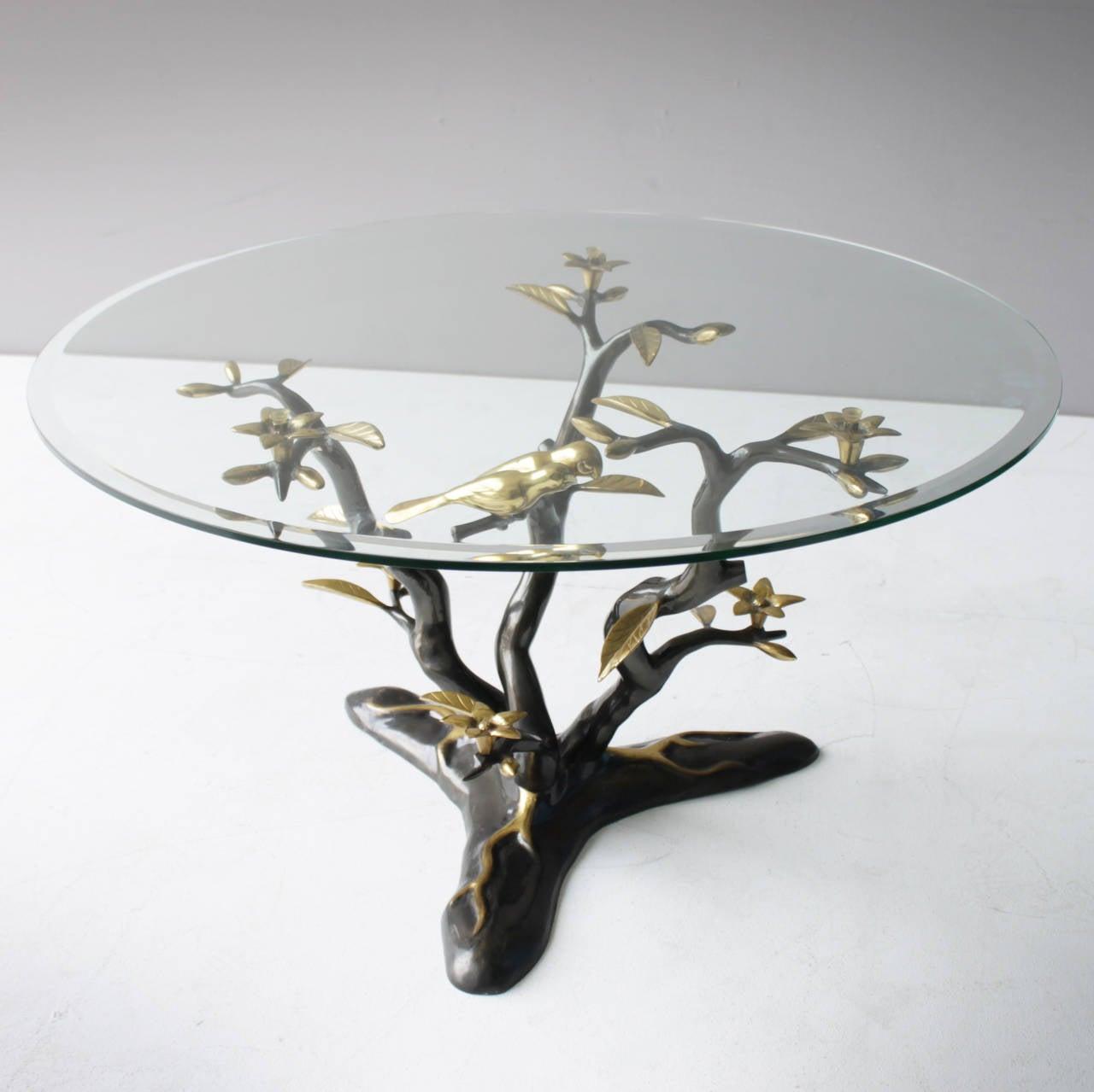 brass tree coffee table at 1stdibs