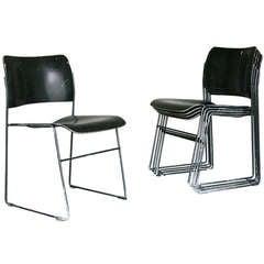 Set of Six Chairs GF 40/4 by David Rowland