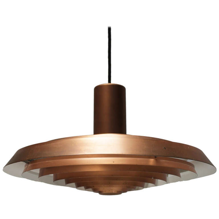 Plate Pendant Lamp By Poul Henningsen For Louis Poulsen At