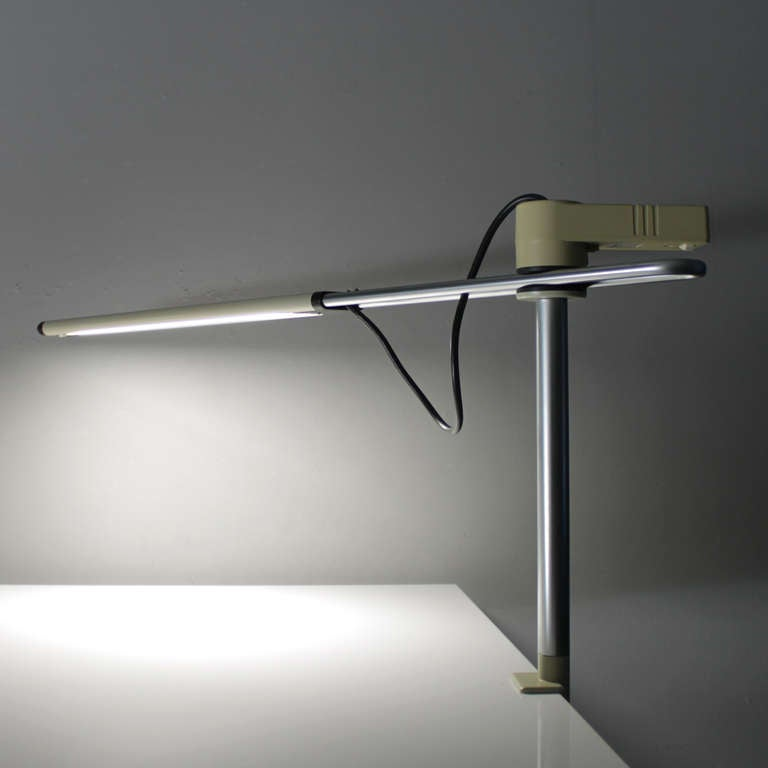 Industrial Desk Lamp By Gispen Holland At 1stdibs