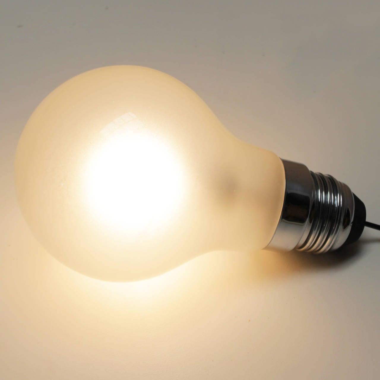 German Thomas Alva Edison Lights by Ingo Maurer For Sale
