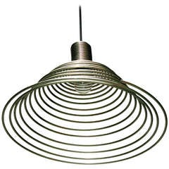 'Spirale' Pendant  Lamp by Angelo Mangiarotti