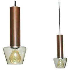 Pair of lamps, attributed to Tapio Wirkkala for Idman/Iittala