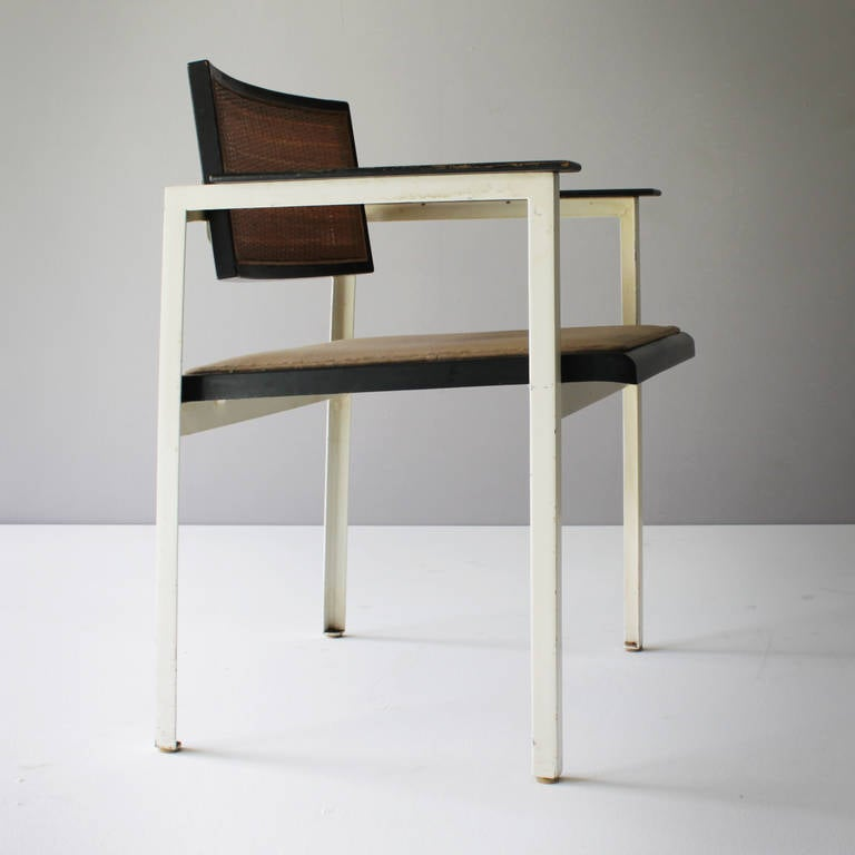 Four Angle Iron Chairs By George Nelson At 1stdibs