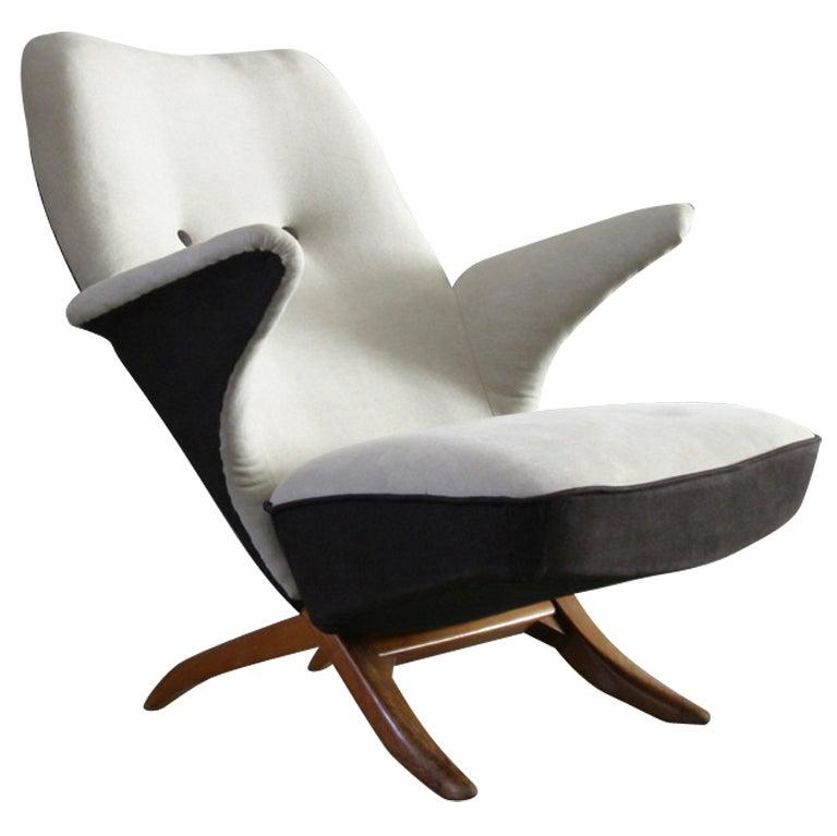 Penguin chair by theo ruth dutch design at 1stdibs for Dutch design chair karton