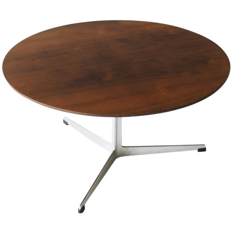 Rosewood Coffee Table By Arne Jacobsen For Fritz Hansen At Stdibs - Hansen patio furniture