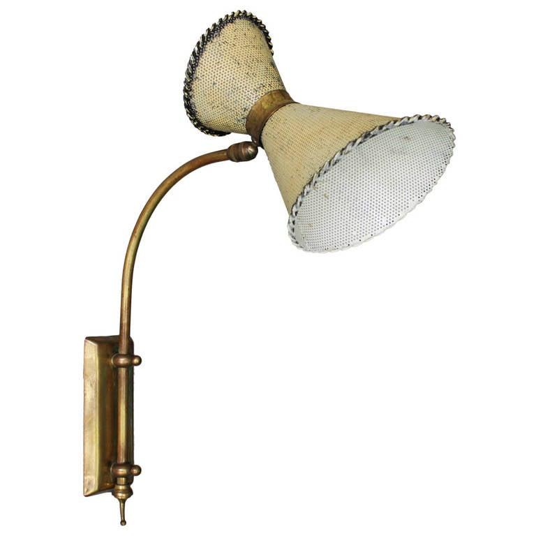 Wall Lamp in the manner of Mathieu Mategot
