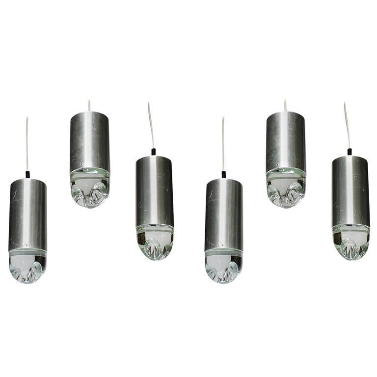 Pendant Lights with Solid Glass by Raak