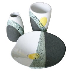A Set of Ceramics by Ettore Sottsass for Bitossi
