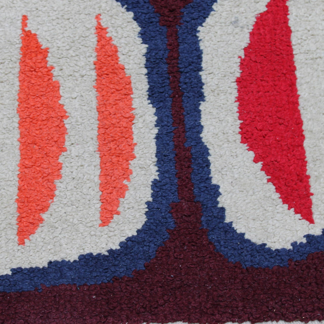 Blue And White Scandinavian Rug: Vintage Scandinavian Rug At 1stdibs