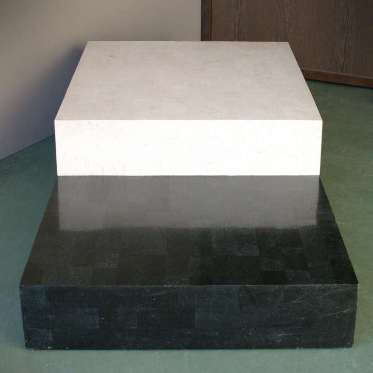 Architectural minimal coffee table. 
