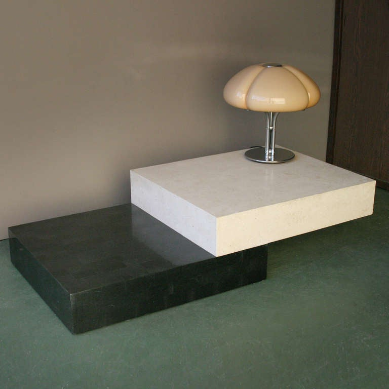 Mid-Century Modern Architectural Minimal Coffee Table For Sale