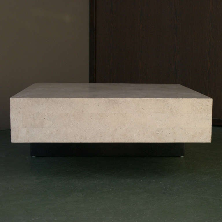 Architectural Minimal Coffee Table For Sale 2