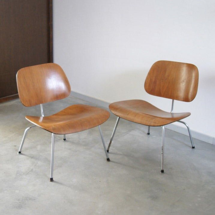 Pair of lcm by charles en ray eames at 1stdibs - Eames eames stoel ...