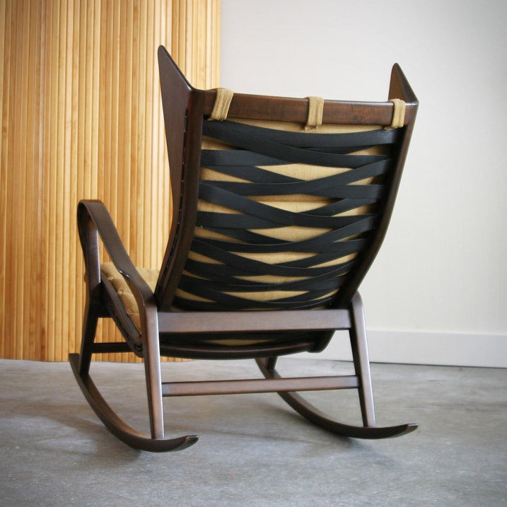 Mid-20th Century Rocking Chair by Gio Ponti for Cassina