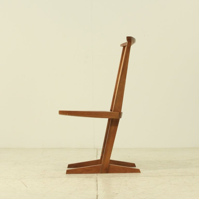 George Nakashima Chairs george nakashima conoid chair for sale at 1stdibs