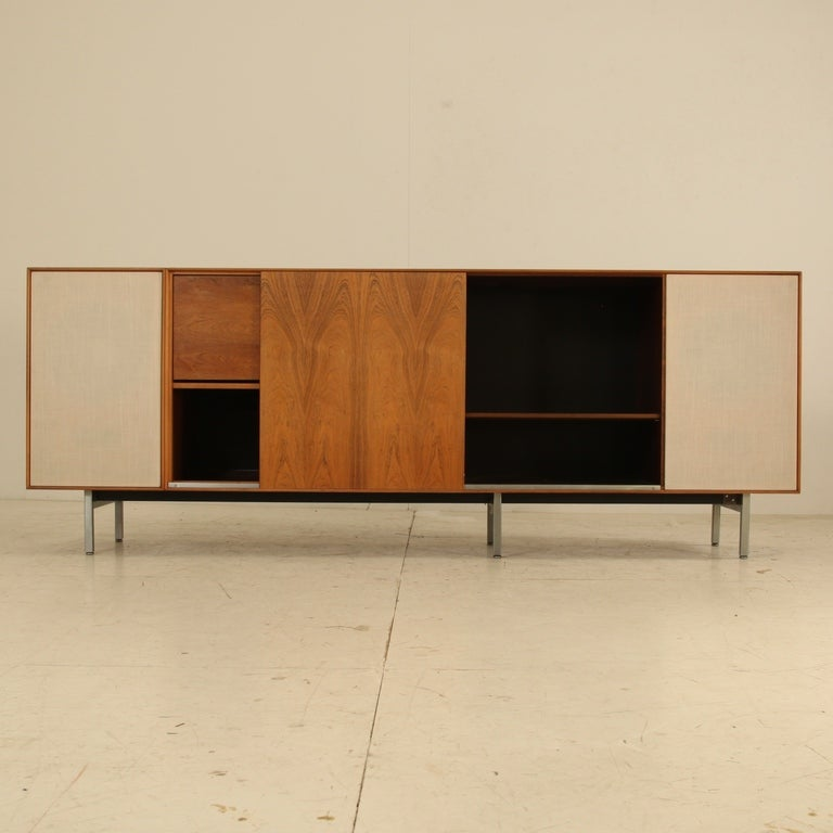 George Nelson Thin Line Stereo Cabinet at 1stdibs