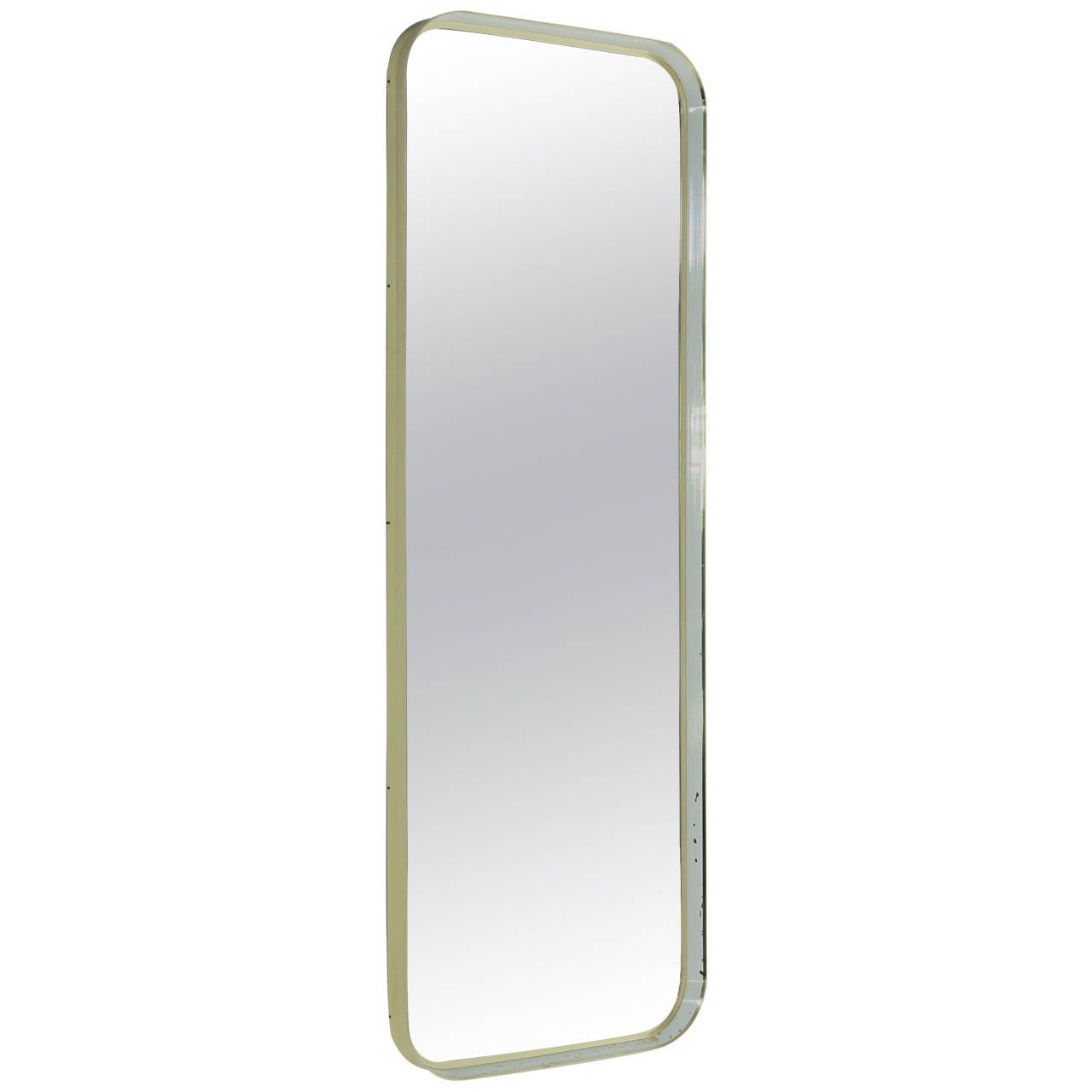 Large Brass Hallway Or Dressing Mirror At 1stdibs