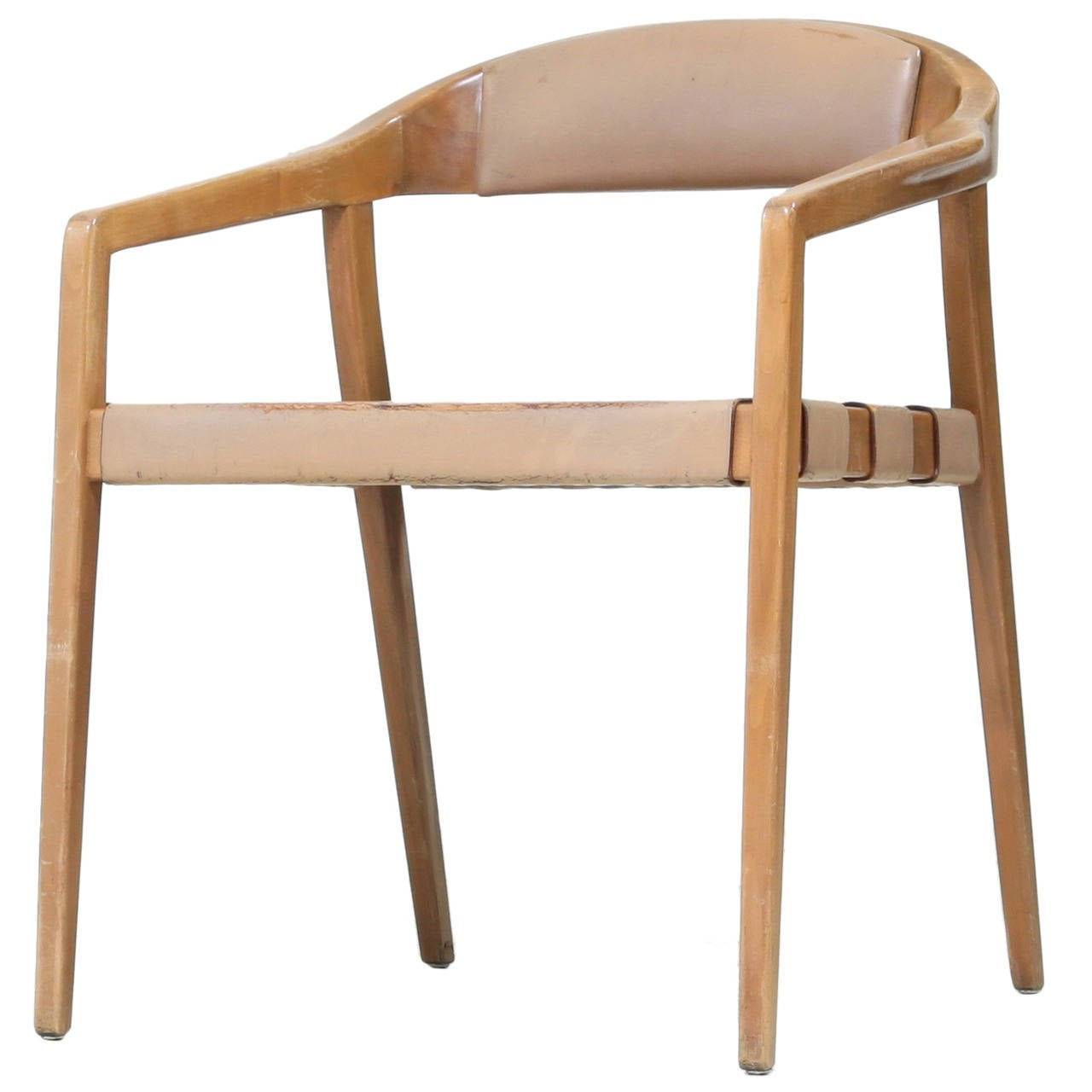 Armrest Chair in the Manner of Rastad and Relling
