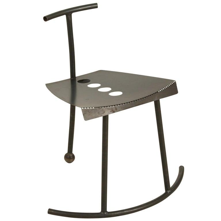 Unique Laubersheimer Chair Rocking Sideways At 1stdibs