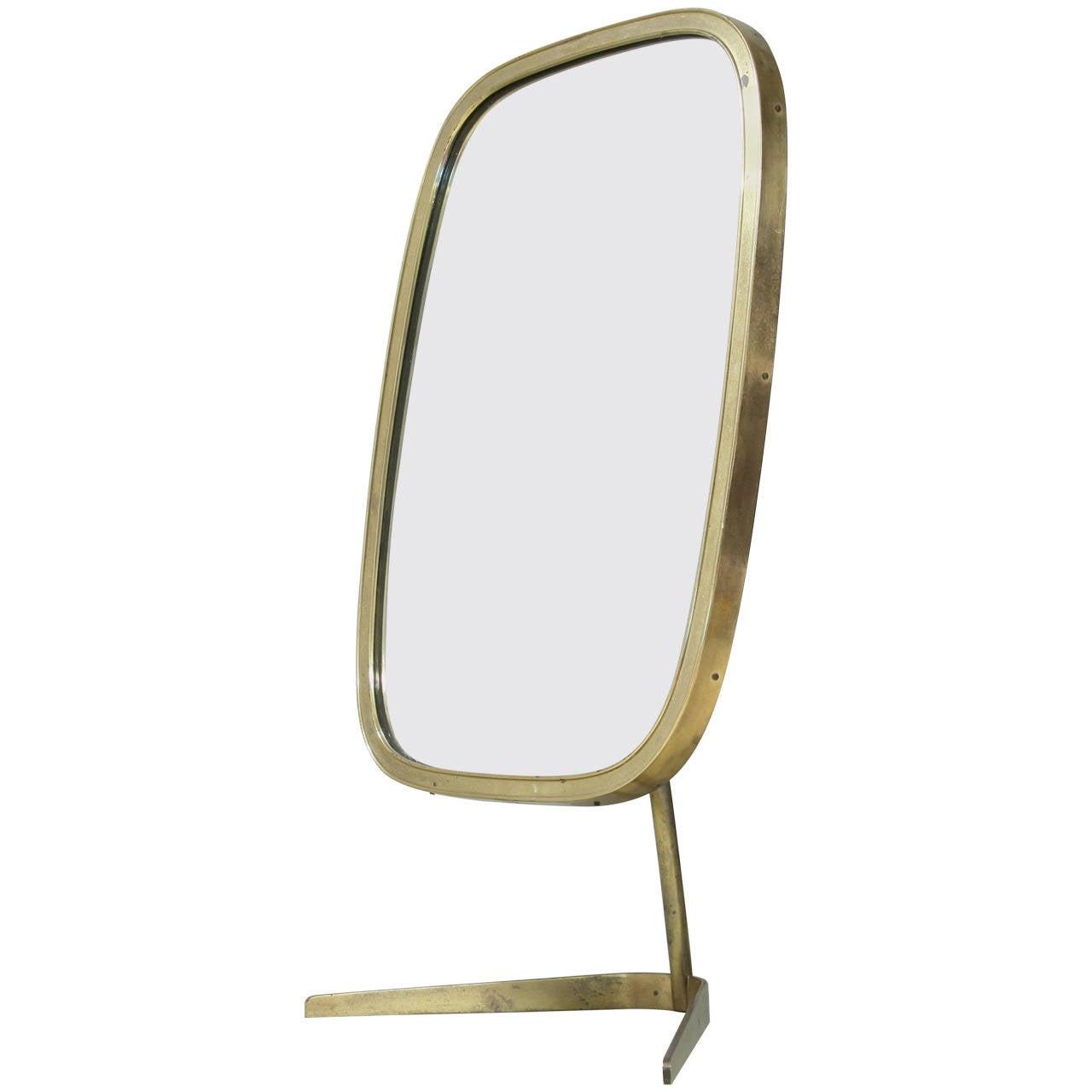 Brass Vanity Mirror At 1stdibs