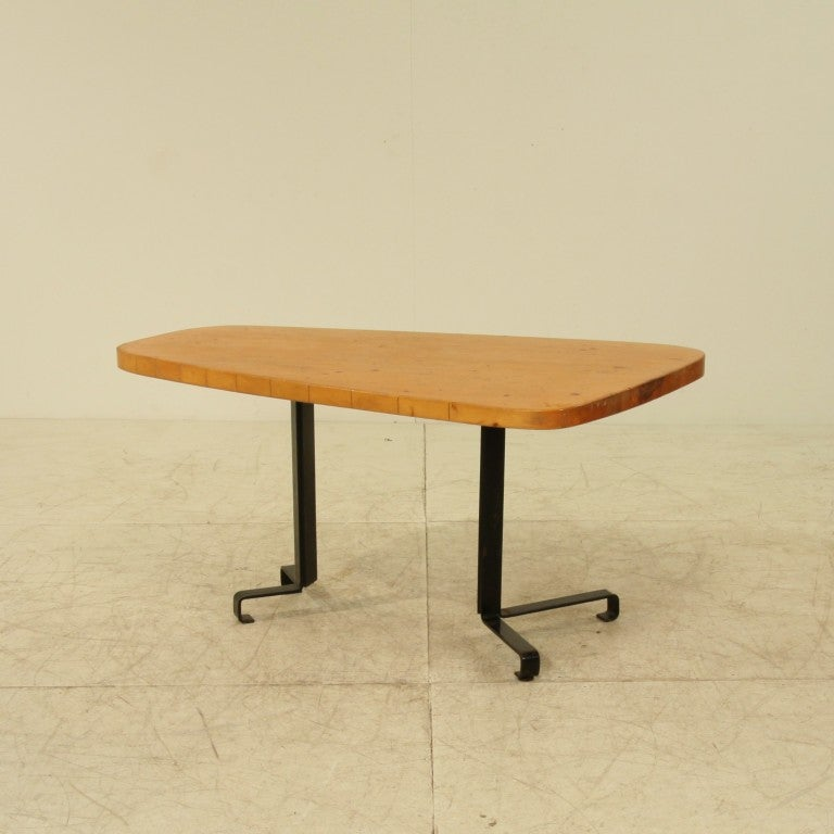 Free form table by charlotte perriand les arcs at 1stdibs - Table charlotte perriand ...