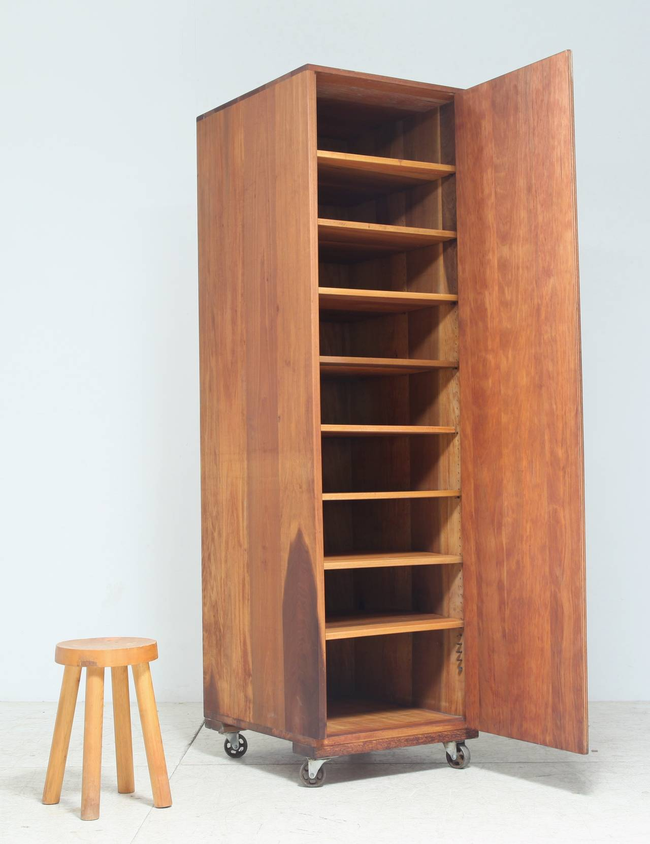 Arden Riddle High Cupboard On Wheels For Sale At 1stdibs