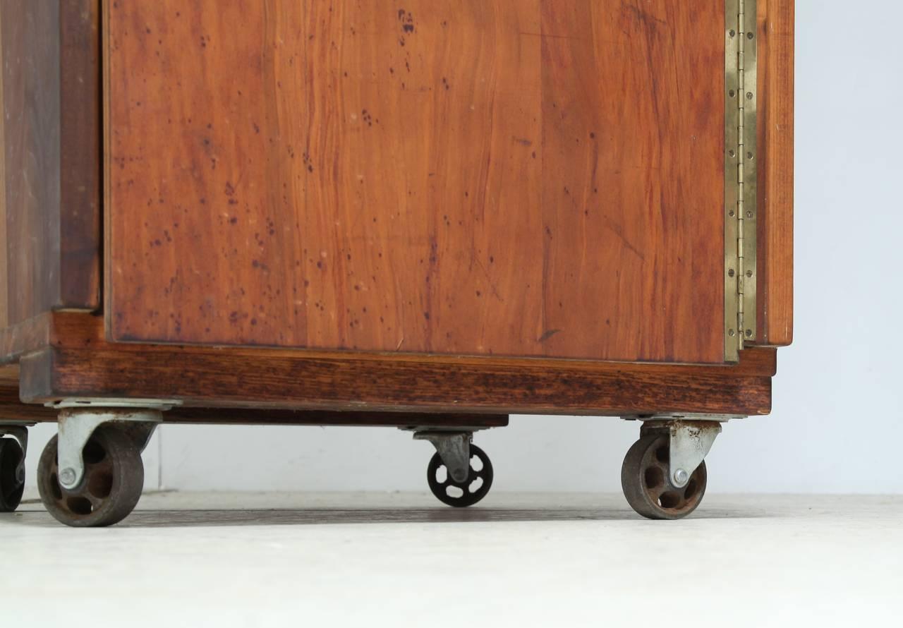 Antique Carved Wooden Drawer Pulls