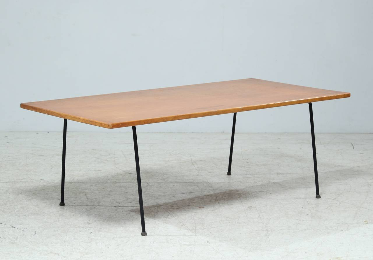 Minimalist Arden Riddle Coffee Table at 1stdibs