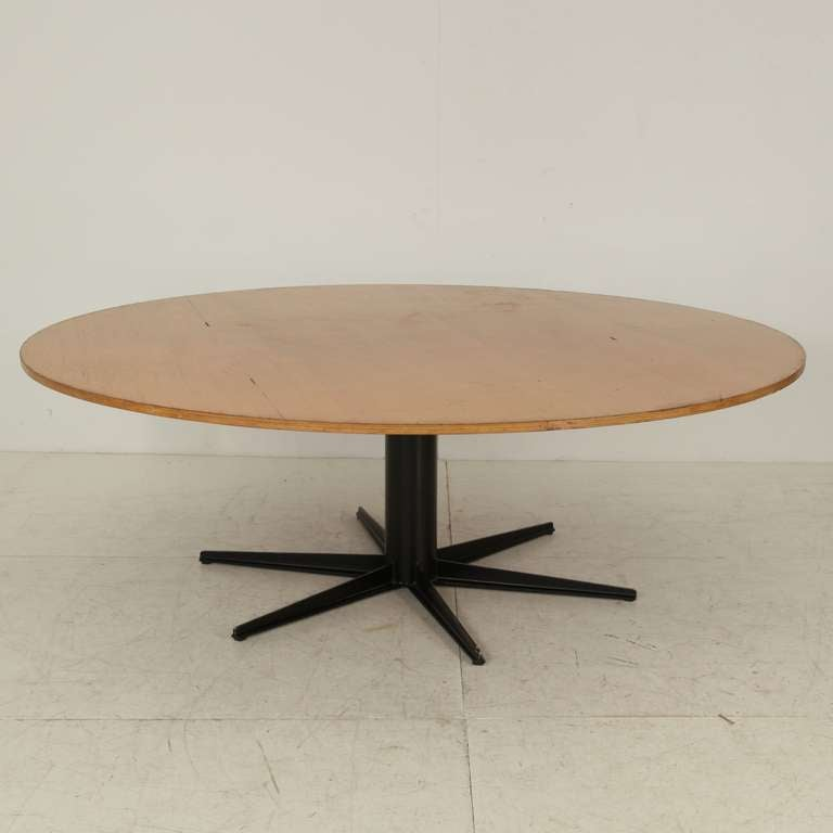 Xxl round industrial table 225 cm 7ft 4 6 inch diameter for 7 foot dining room table