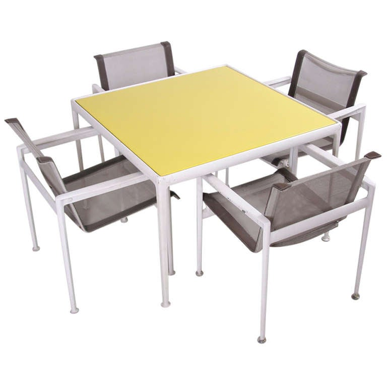 Richard Schultz Outdoor Dining Set 1966 Collection For