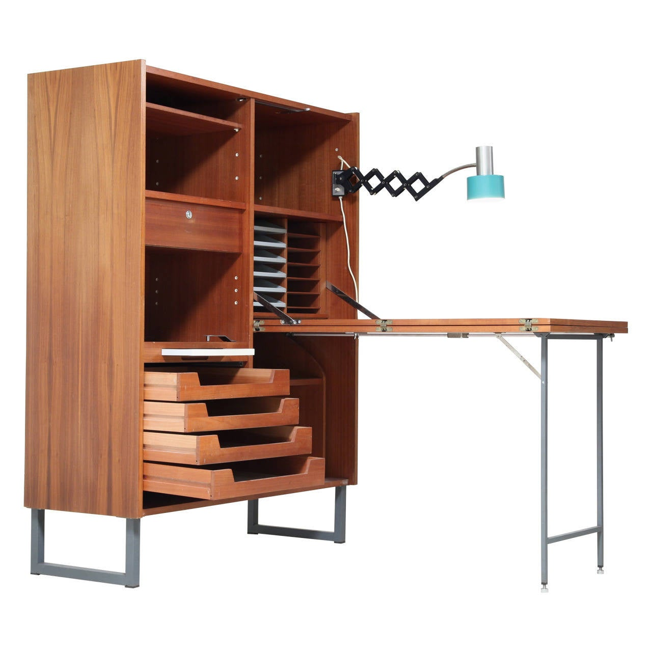 Fold Out Desk For