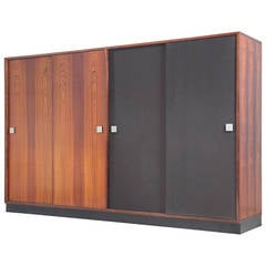 Large Wardrobe in Rosewood by Alfred Hendrickx