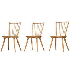 Set of Three Arts and Crafts Chairs by Albert Haberer