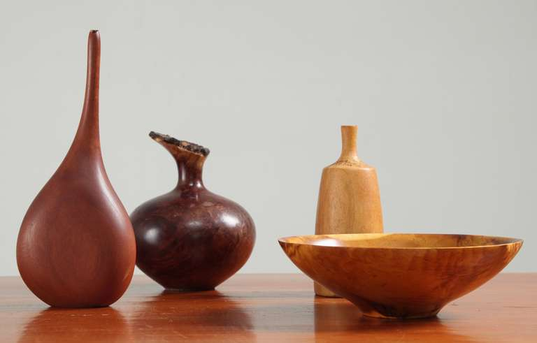 Collection Of Turned Wood Objects For Sale At 1stdibs
