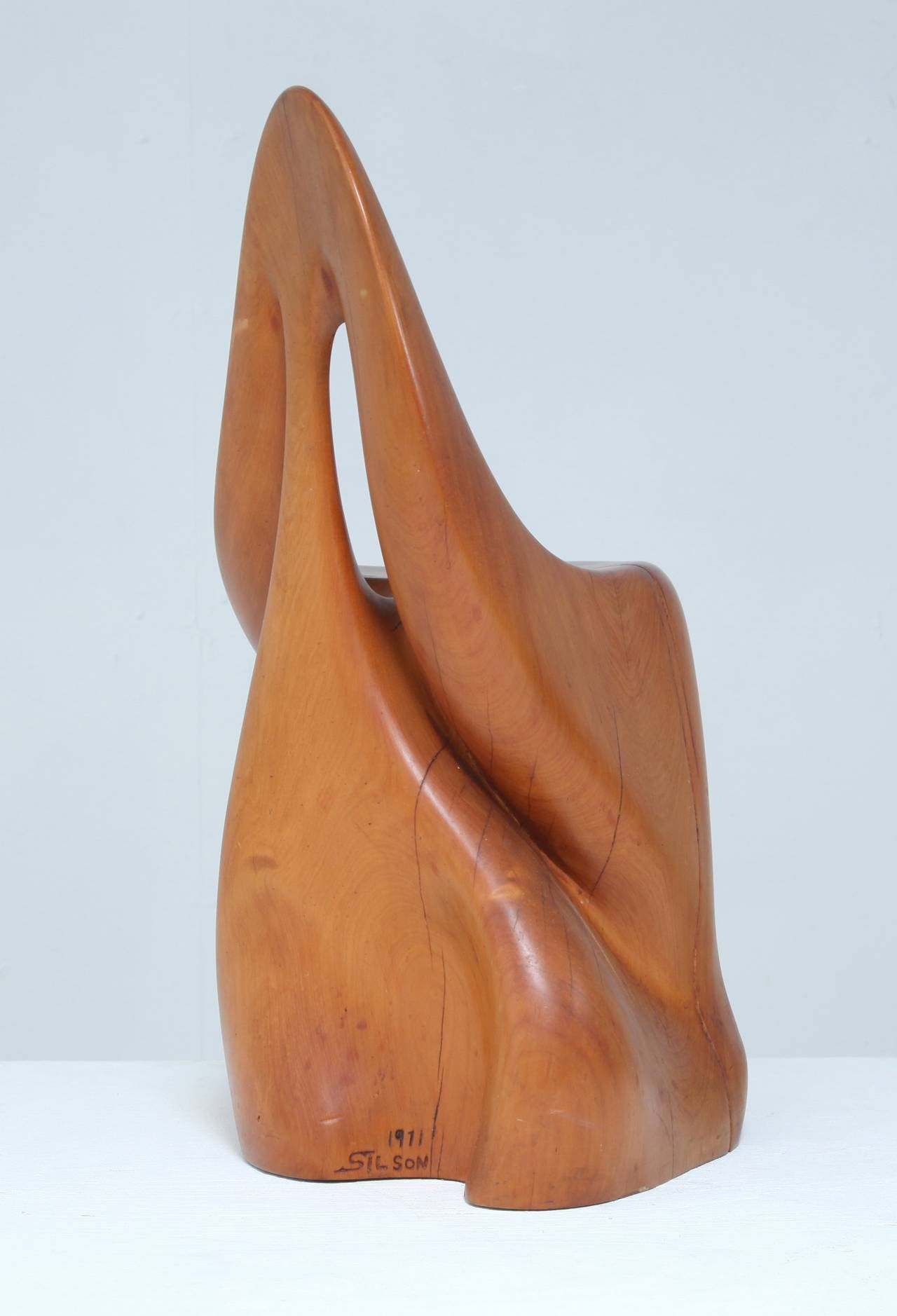 Studio Crafted Sculptural Chair For Sale At 1stdibs